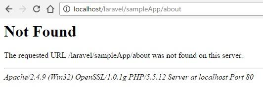 page error